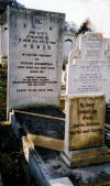 My Grandfather Hyman Grossman's headstone, Marlow Rd cemetery, East End of London