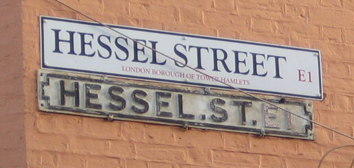 My dearest Hessel Street, I'll never forget you...