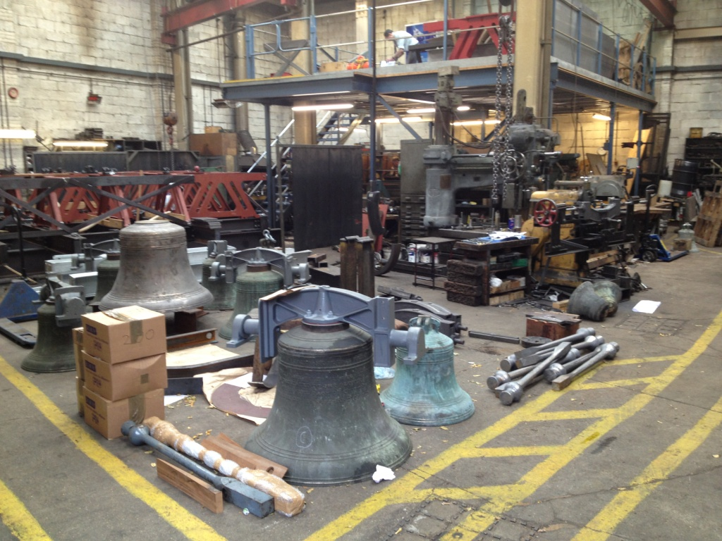 Workshop of the Whitechapel Bell Foundry